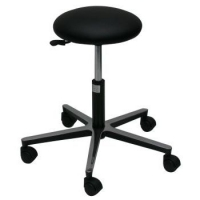 TABOURET NOIR MEDICAL