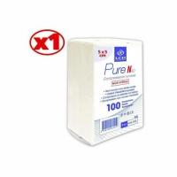 Compresses en Non tissé non Stériles 5X5CM Boite de 100