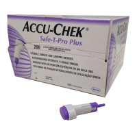Autopiqueur à usage unique Accu Chek Safe-T-Pro Plus