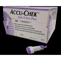 Autopiqueur à usage unique Accu Chek Safe-T-Pro Plus