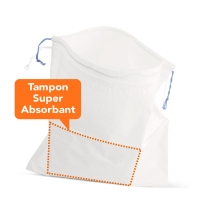 Sac Vomitoire avec Tampon Super-absorbant CareBag®