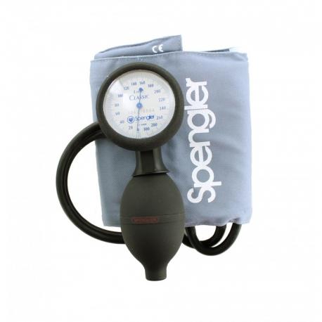 Tensiomètre Lian® Classic avec brassard velcro coton gris Adulte (M) Spengler 519011