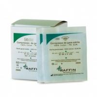 Boite de 50 Compresses de gaze stérile 5x5 20X20
