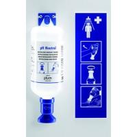 Station de lavage oculaire 1 bouteille 1000 mL | 4741 PLUM