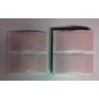 50 Pansements tissu 8cmX4cm rose élastique économique