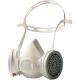 Demi-masque à usage court avec filtres de protection gaz/vapeurs FF A1 Freedom