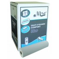 Carton de 9 Draps d'examen Confort 2 plis