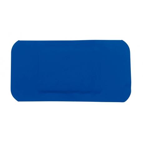 100 Pansements plastiques bleu détectables 72 mm x 38 mm