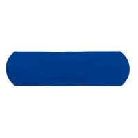 100 Pansements plastiques bleu détectables 72 mm x 19 mm