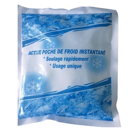 COUSSIN DE FROID INSTANTANE AVEC HOUSSE 10 cm x 10cm