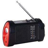 Radio dynamo avec lampe torche