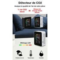 DETECTEUR CAPTEUR CO2 - OXYDE DE CARBONE -