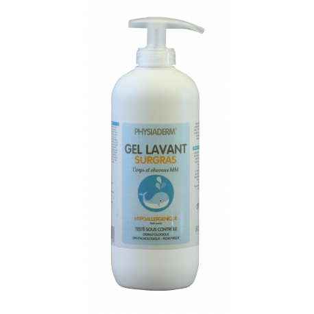 GEL LAVANT SURGRAS BEBE 500ML