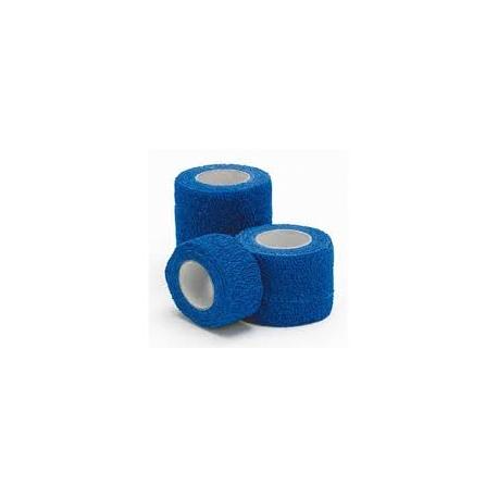BANDE COHESIVE BLEUE LEGERE 4.5M X 2.5CM