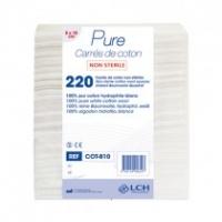 200 rectangles de coton 8x10