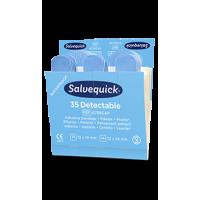 Recharge de Pansements Bleus détectables stériles Salvequick 6735CAP