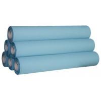 Drap d'examen prédécoupé 50cm bleu